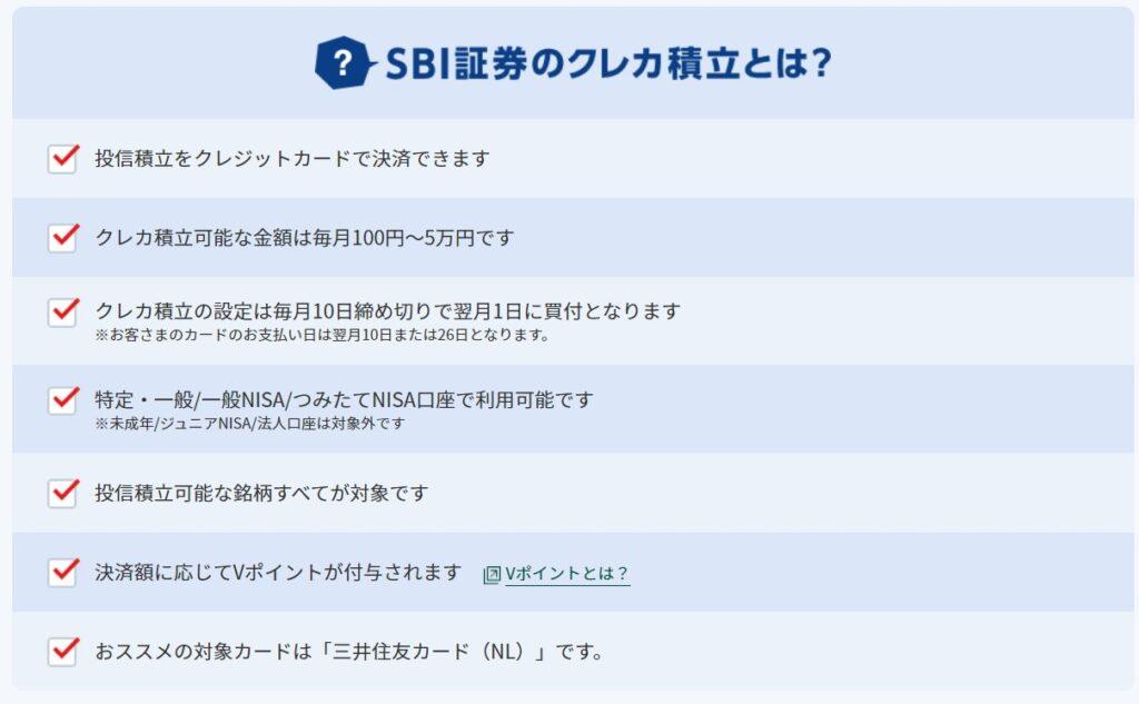 三井住友カード投信積立1